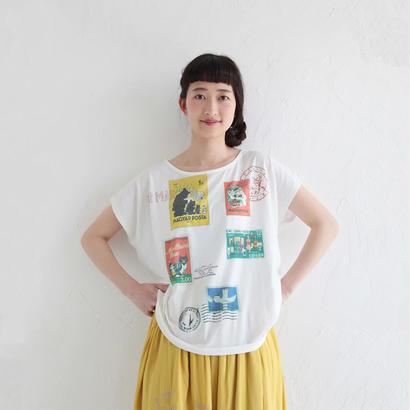 [2017SS]バックリボンTシャツ スタンプ(NH1708A)(8/21まで)
