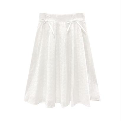 172SK25 刺繍コットンふんわりスカート