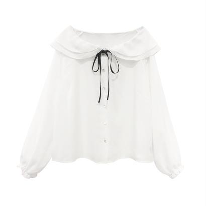 181SH12 フリル衿シャツ