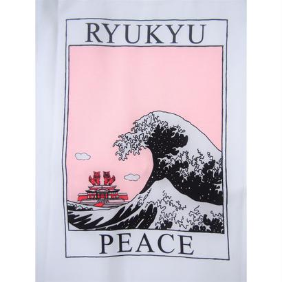"CAL O LINE × HONOR'S ""命どぅ宝""  RYUKYU WAVE Tee"