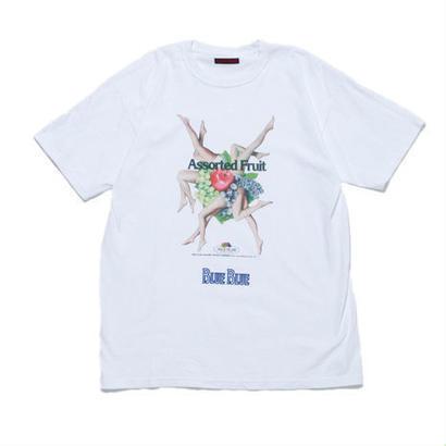 FRUIT OF THE LOOM・BLUE BLUE(フルーツ オブ ザ ルーム・ブルーブルー)アソートフルーツプリントTシャツ