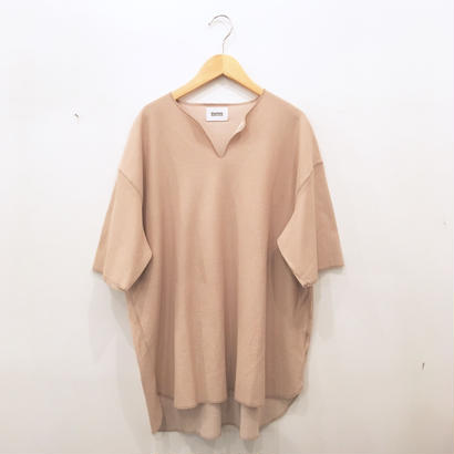 blurhms  (ブラームス)Rough & Smooth Thermal Loose Fit Over - Neck