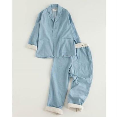 "NOWHAW  ""day "" pajama  #bleach denim"