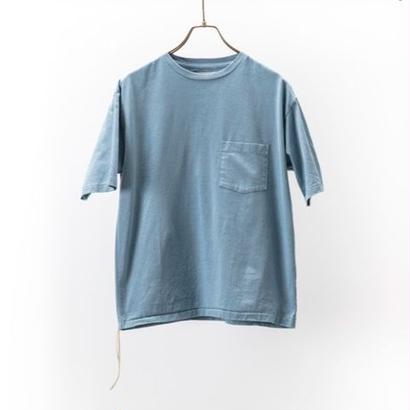 CAL O LINE  SOLID COLOR S/S POCKET TEE