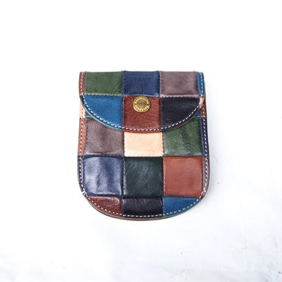 DAMASQUINA(ダマスキーナ) BLOCK PATCHWORK U WALLET