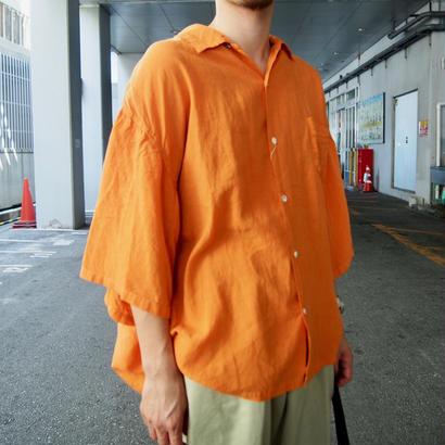 KAPITAL(キャピタル)  ソフトリネン 開襟BIG シャツ