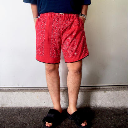 CAL O LINE  ( キャルオーライン)REVERSIBLE BANDANA SHORTS