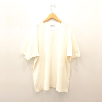 blurhms  (ブラームス)Rough & Smooth Thermal Loose Fit Tee