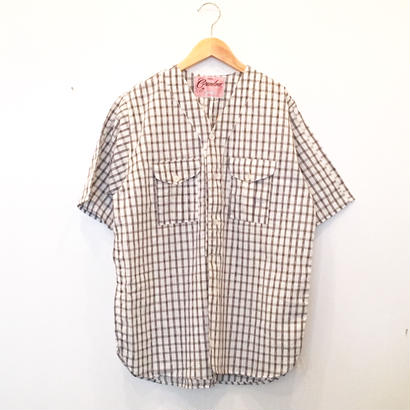 "Made by Grandma for Mafia    Dead Stock ""Yukata"" Boy Scout Shirt / F"