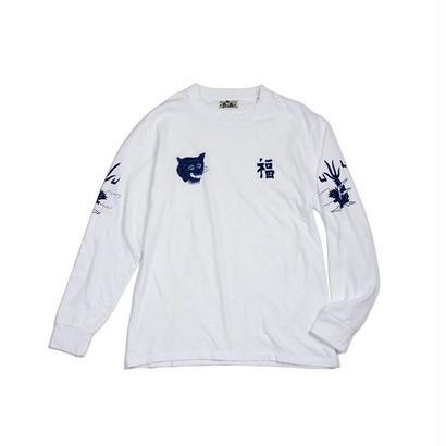 BLUE BLUE JAPAN(ブルーブルージャパン)  フク トラ リュウ  LS Tシャツ
