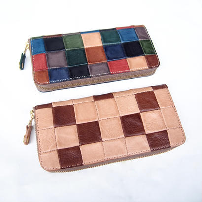 DAMASQUINA(ダマスキーナ)PATCHWORK ZIP WALLET LARGE