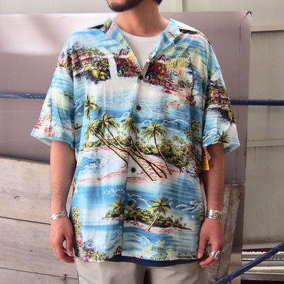 KALAHEO(カラヘオ)  WASHABLE RAYON ALOHA SHIRTS