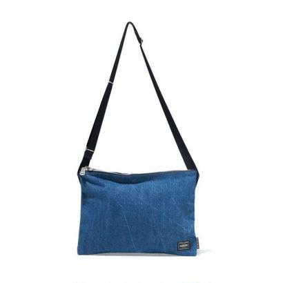 BLUE BLUE・PORTERフェードデニム サコッシュ
