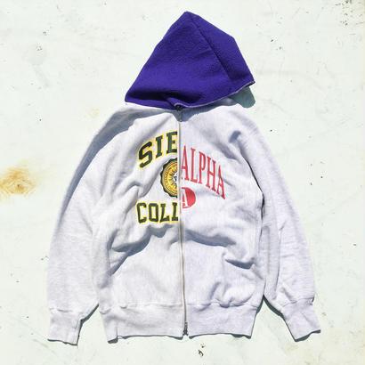 Sunny Side Up   リバースSWEAT WZIP パーカー(Size4)