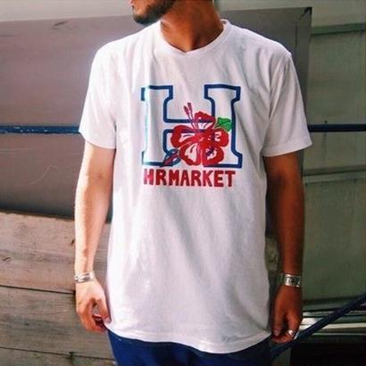 HOLLYWOOD RANCH MARKET(ハリウッドランチマーケット)  Hハイビスカス Tシャツ