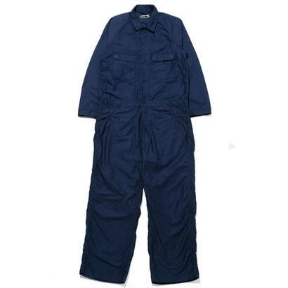 HOLLYWOOD RANCH MARKET バックサテン ワイドジャンプスーツ