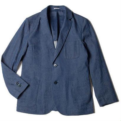 BLUE BLUE JAPAN ミュートジャカードペイズリー ストレッチ2Bジャケット