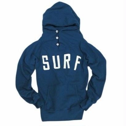 KAPITAL  12/-レギュラー裏毛SURFフードブルゾン