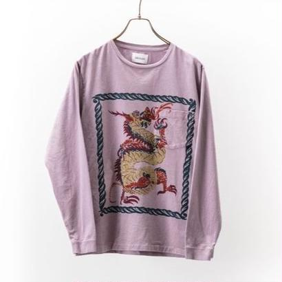 "CAL O LINE  ""DRAGON "" L/S T-SHIRT"
