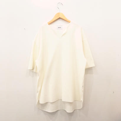 blurhms (ブラームス) Rough & Smooth Thermal Loose Fit Over - Neck