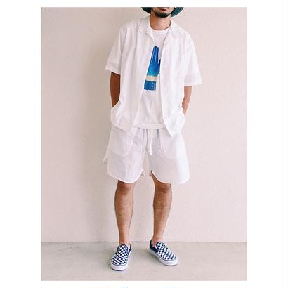 "NOWHAW(ノウハウ) ""health land"" pajama  #white"