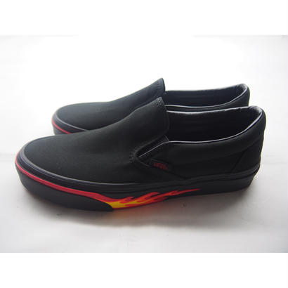 VANS(バンズ) Classic Slip-On  (FLAME WALL)