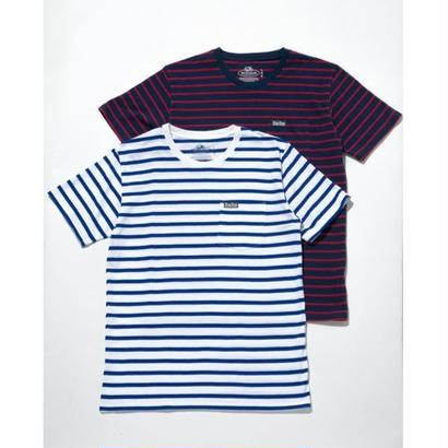 FRUIT OF THE LOOM・BLUE BLUE(フルーツ オブ ザ ルーム・ブルーブルー)ボーダー2パックポケットTシャツ