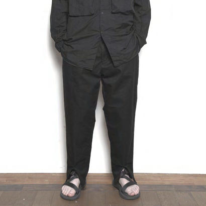 blurhms Heavy Twill Central Slit Pants