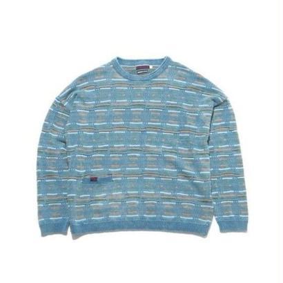 BLUE BLUE  ビーチウェーブ クルーネックセーター