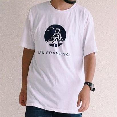 San Francisco(サンフランシスコ)  サークルゴールデンゲートブリッジ PT T