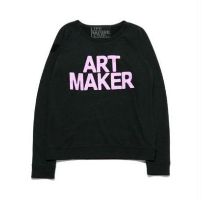 FREE CITY  Fuzzy Art Maker raglan