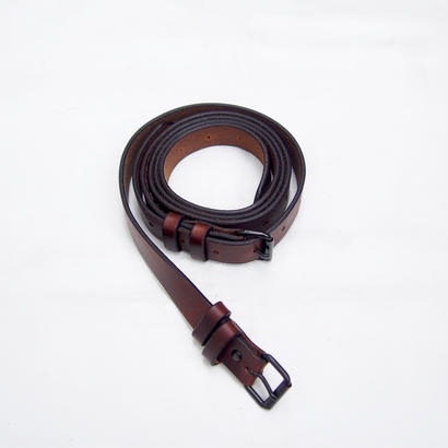 JOHN MASON SMITH  LEATHER W LONG BELT