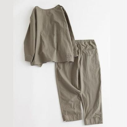 "NOWHAW ""military wok"" pajama / military ox(#olive)"