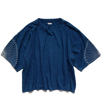 【入荷予定先行予約受付中】KAPITAL  IDG天竺 HUGE-T(風呂敷刺繍