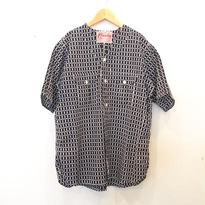 "Made by Grandma for Mafia    Dead Stock ""Yukata"" Boy Scout Shirt / G"