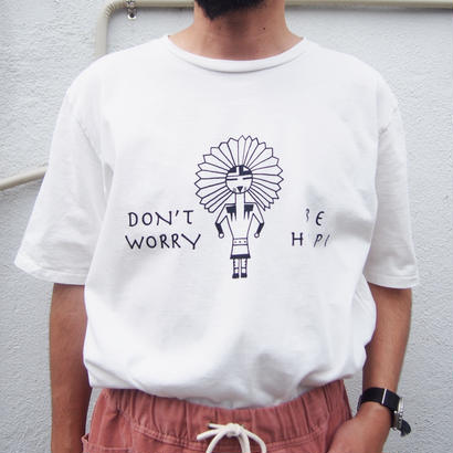 "CAL O LINE  (キャルオーライン)""DON'T WORRY BE HOPI"" T-SHIRT"