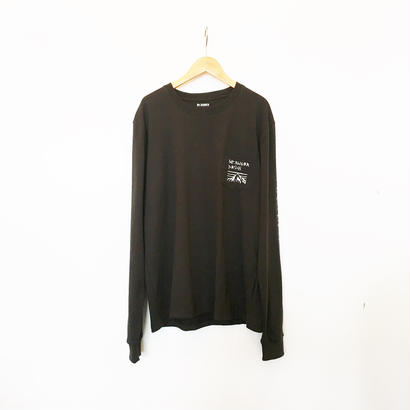 MT.RAINIER DESIGN  MRD プリントポケット ロングスリーブTシャツ