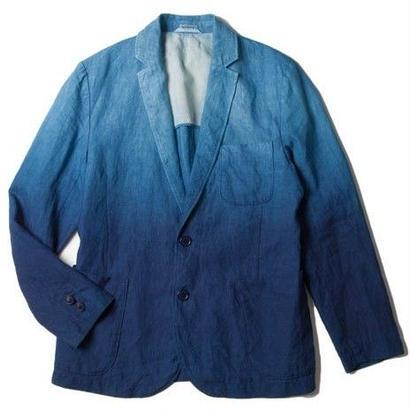 BLUE BLUE JAPAN リネンホンアイグラデーション 2Bジャケット