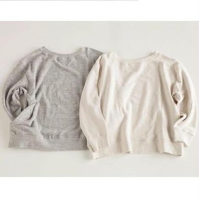 "NOWHAW  ""wok"" sweat shirt  #white"