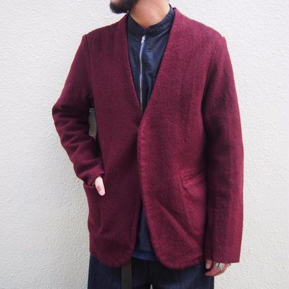 blurhms Shurink Cotton-Wool No Collar Jacket