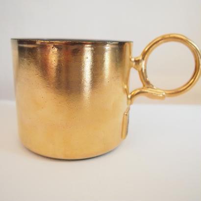 "KEROUAC 5th Anniversary -Studio ooparts × Kerouac - ""Golden Mug""(Gold×purple)"