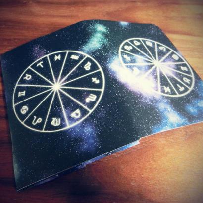 開けアセンダント!占星術で覚える大アルカナ カードケース!(名刺入れサイズ)