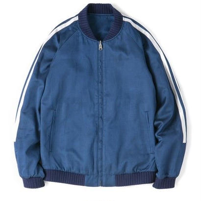 "Sandinista ""Rayon Riversible Track Jacket"" (ブルー)"