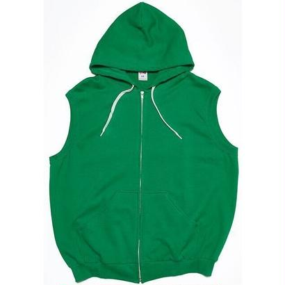 "VOTE MAKE NEW CLOTHES ""BIG VEST HOODIE"" (グリーン)"