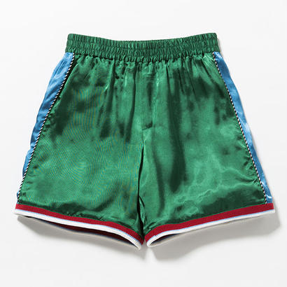 "VOTE MAKE NEW CLOTHES ""SATIN SOUVENIR SHORTS 7"" (グリーン)"