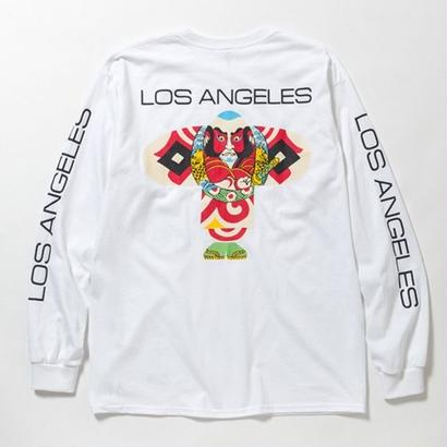 "VOTE MAKE NEW CLOTHES ""DTLA L/S TEE""(ホワイト)"