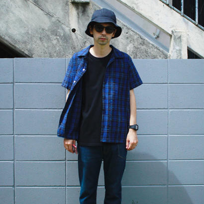 "Sandinista ""Overdyed Madras Check S/S Shirt"""