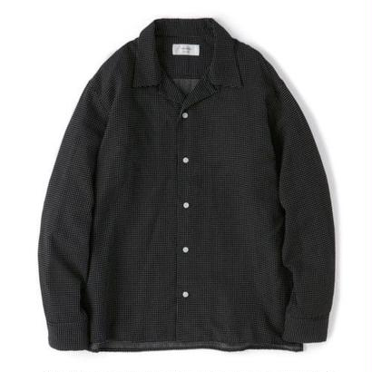 "Sandinista ""Rayon Stitched Cross Shirts"" (ブラック)"