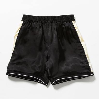 """VOTE MAKE NEW CLOTHES """"SATIN SOUVENIR SHORTS 7"""" (ブラック)"""