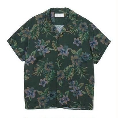 """Sandinista """"Rayon Aloha Shirt"""" (グリーン)"""